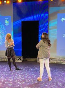 Stéphanie et Priscilla lors de la préparation du Studio ESTim 2021